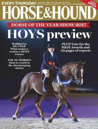 Horse & Hound 28th September 2017