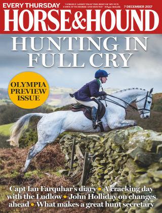 Horse & Hound Magazine December 2017