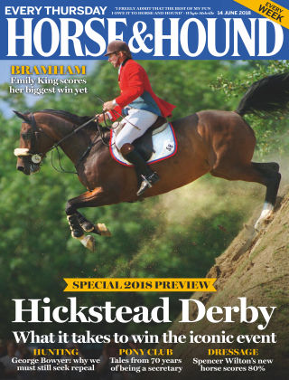 Horse & Hound 14th June 2018