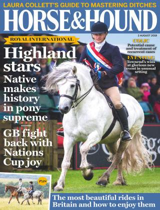 Horse & Hound 2nd August 2018