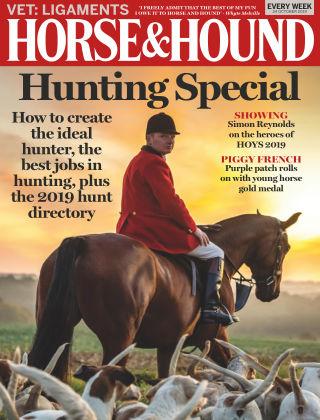 Horse & Hound 24th October 2019