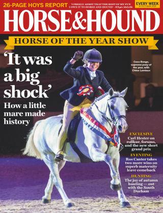 Horse & Hound 10th October 2019