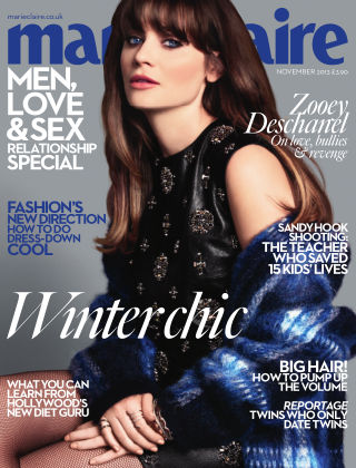 Marie Claire UK November 2013