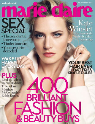 Marie Claire UK November 2014