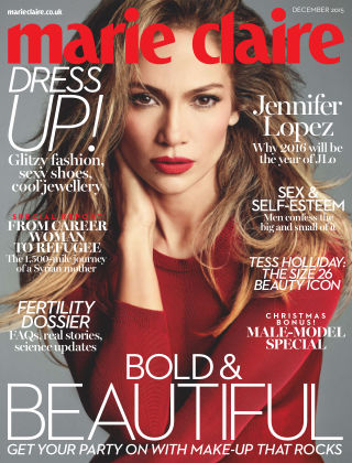 Marie Claire UK December 2015