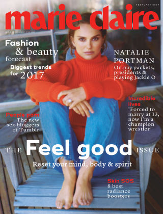 Marie Claire UK February 2017