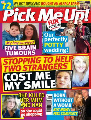 Pick Me Up! Feb 27 2020