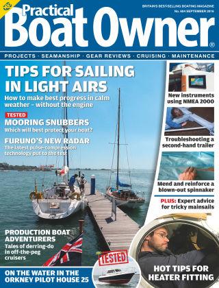 Practical Boat Owner September 2016