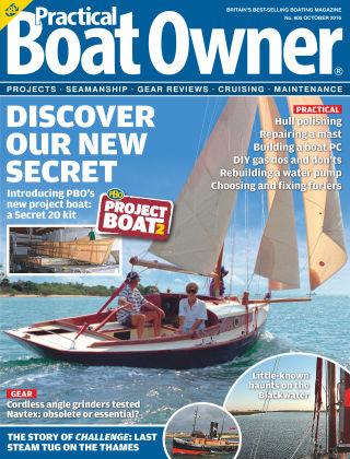 Practical Boat Owner October 2016