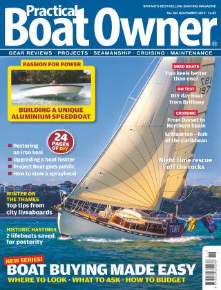 Practical Boat Owner Nov 2019