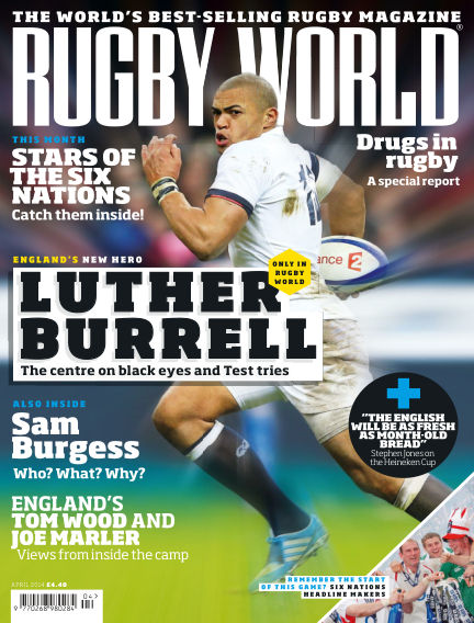 Rugby World April 01, 2014 00:00