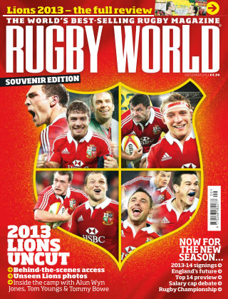 Rugby World September 2013