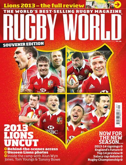 Rugby World September 03, 2013 00:00