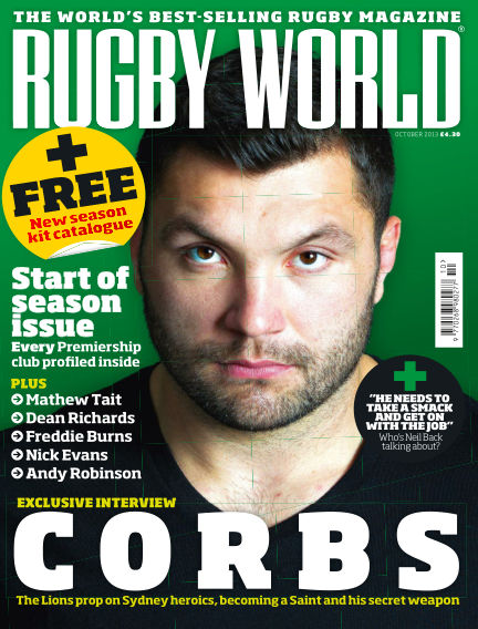 Rugby World October 01, 2013 00:00