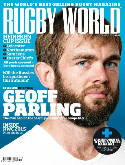 Rugby World November 05, 2013 00:00