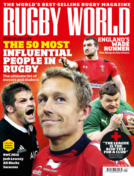 Rugby World September 02, 2014 00:00