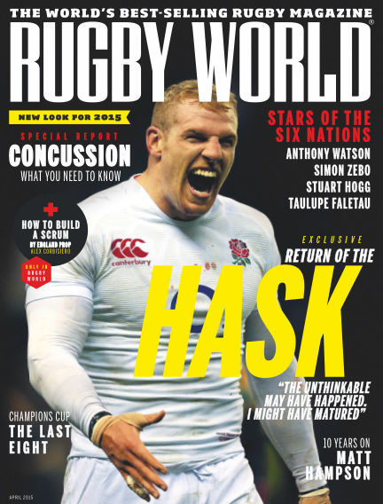 Rugby World April 07, 2015 00:00