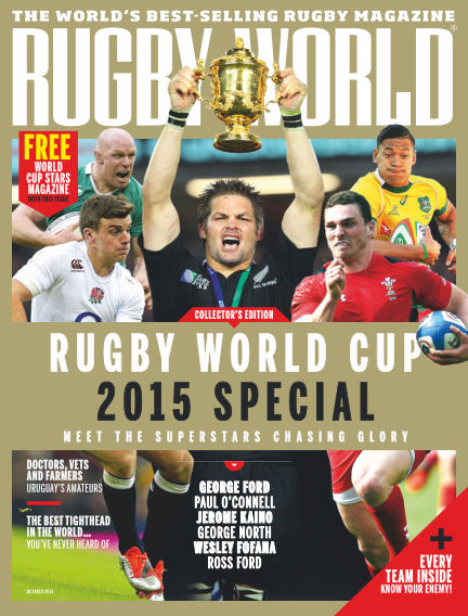 Rugby World October 06, 2015 00:00