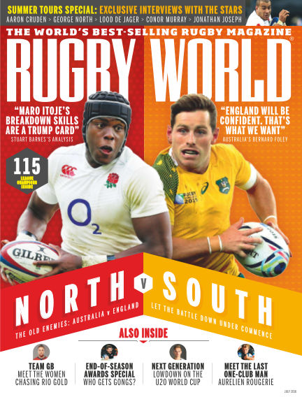 Rugby World June 07, 2016 00:00