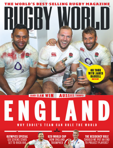 Rugby World July 05, 2016 00:00