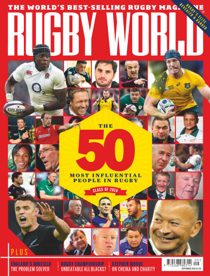 Rugby World August 02, 2016 00:00