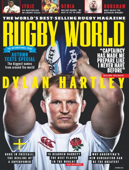 Rugby World November 01, 2016 00:00