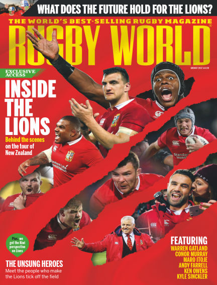 Rugby World July 04, 2017 00:00
