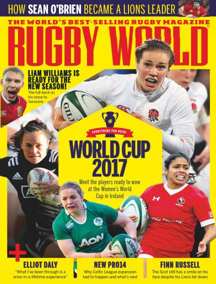 Rugby World August 01, 2017 00:00