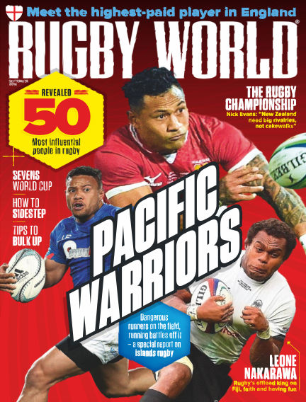 Rugby World July 31, 2018 00:00
