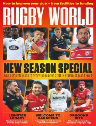 Rugby World Oct 2018