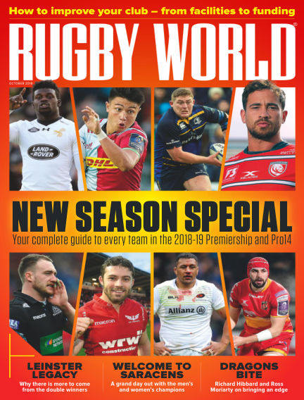Rugby World August 28, 2018 00:00
