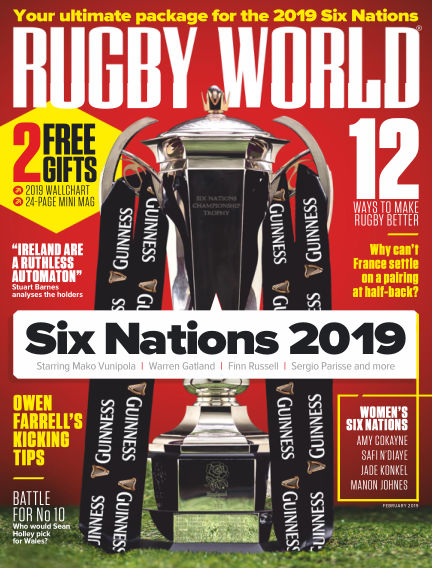 Rugby World January 08, 2019 00:00
