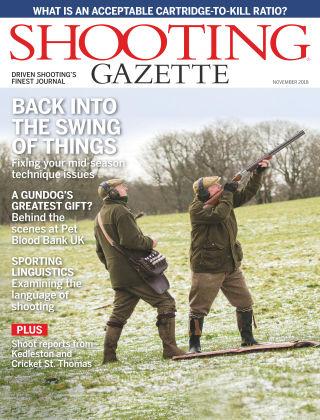 Shooting Gazette Nov 2018