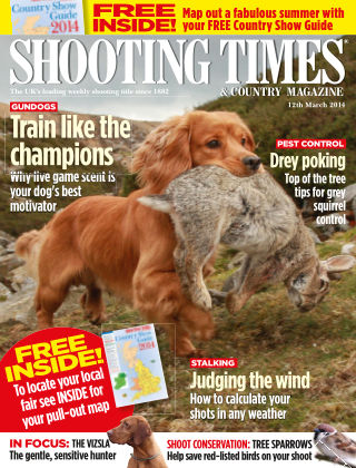 Shooting Times & Country Magazine 12th March 2014