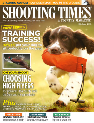 Shooting Times & Country Magazine 18th June 2014