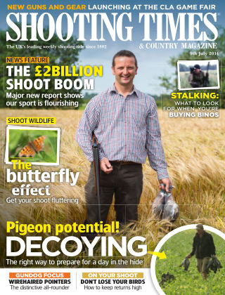 Shooting Times & Country Magazine 9th July 2014