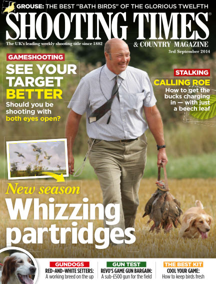 Shooting Times & Country Magazine September 10, 2014 00:00