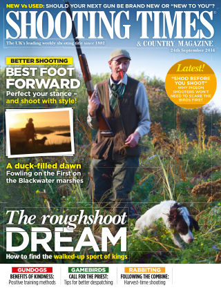 Shooting Times & Country Magazine 24th September 2014