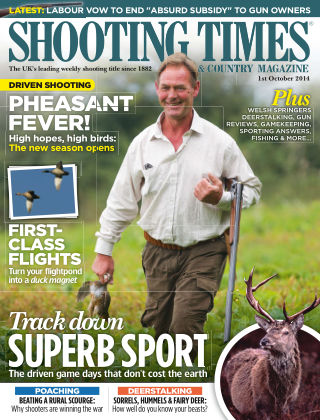 Shooting Times & Country Magazine 1st October 2014