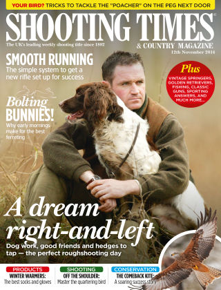 Shooting Times & Country Magazine 12th November 2014