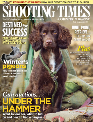 Shooting Times & Country Magazine 3rd December 2014