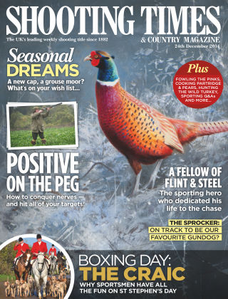 Shooting Times & Country Magazine 23rd December 2014