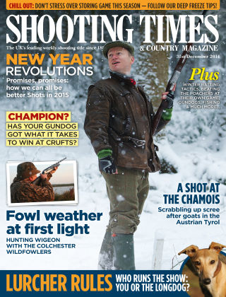 Shooting Times & Country Magazine 31st December 2014