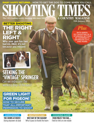 Shooting Times & Country Magazine 14th January 2015