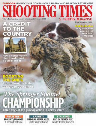 Shooting Times & Country Magazine 21st January 2015