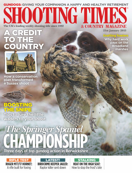 Shooting Times & Country Magazine January 28, 2015 00:00