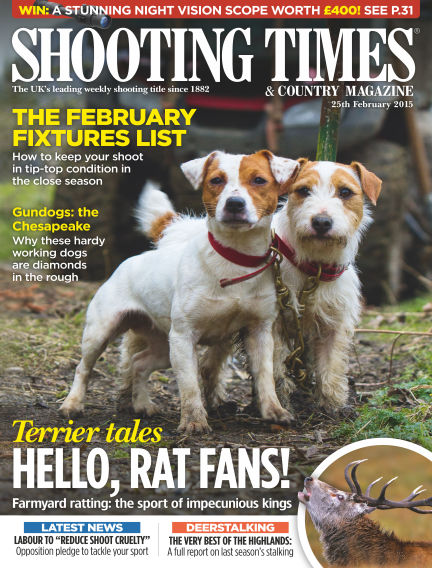 Shooting Times & Country Magazine March 04, 2015 00:00