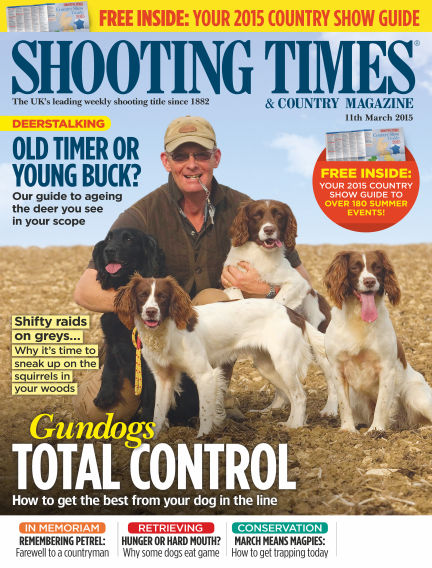 Shooting Times & Country Magazine March 18, 2015 00:00