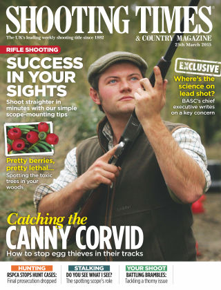 Shooting Times & Country Magazine 25th March 2015