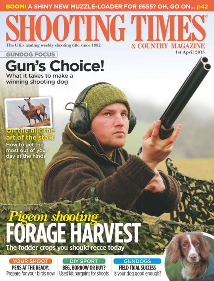 Shooting Times & Country Magazine April 08, 2015 00:00